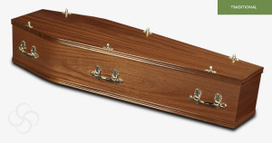 light_mahogany_lincoln_traditional_coffin
