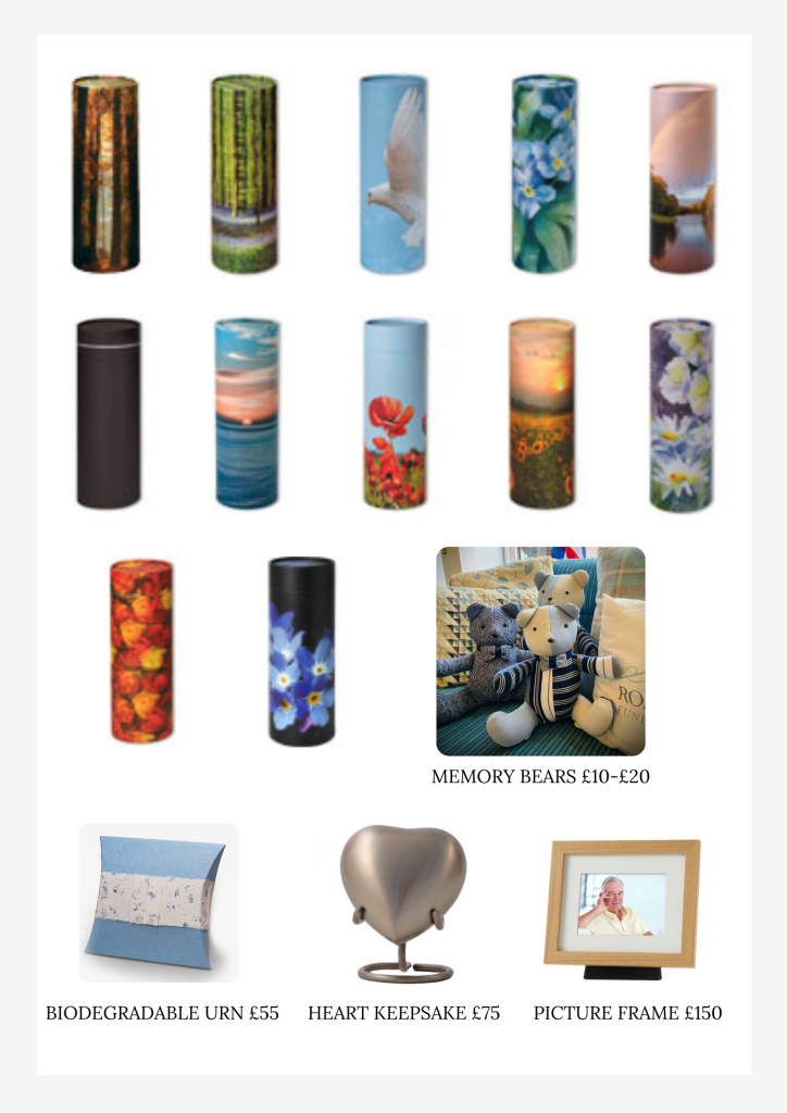 Copy of ashes urns and keepsake 2
